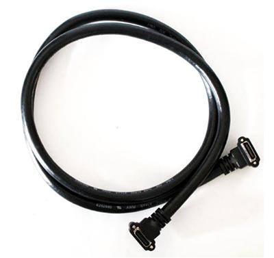 弯对弯线缆组件